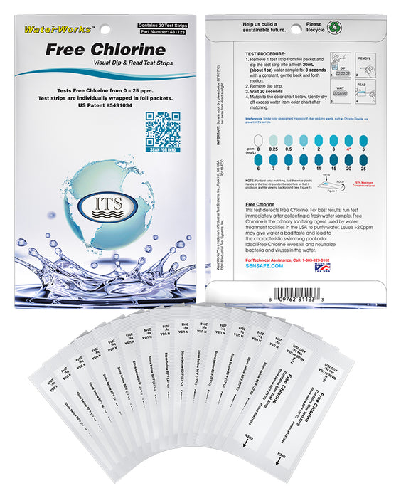 WaterWorks™ Free Chlorine (Pocket-Pack)