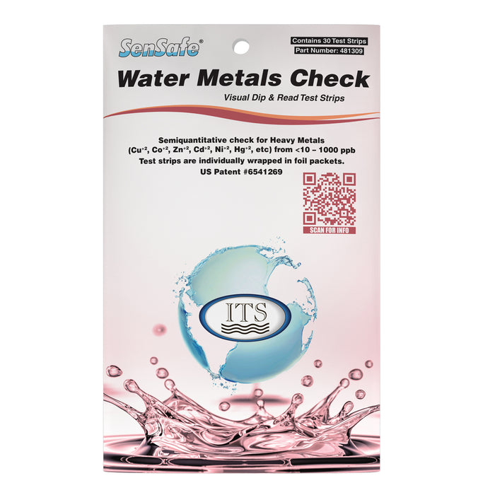 SenSafe® Water Metals Check (Eco-Pack)