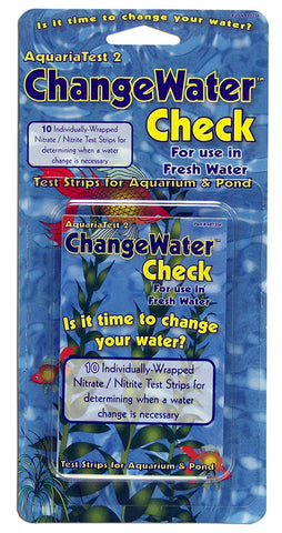 AquariaTest 2 Change Water Check