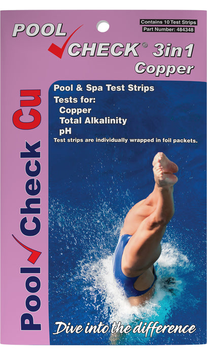 Pool Check® Copper 3in1 - Pocket Pack