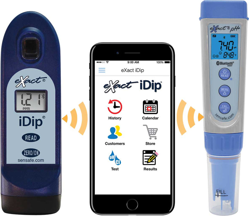 eXact® pH+ with Bluetooth Multi-Test Kit