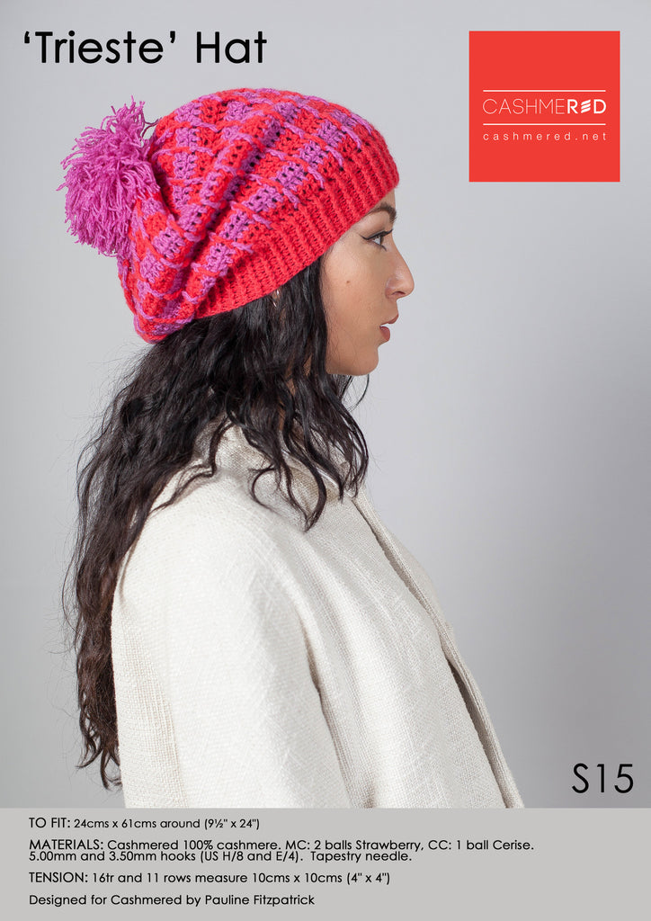 Trieste Hat - Pattern Download