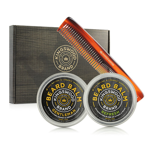 "2 PACK ""BEARD BALM"" GIFT BOX"