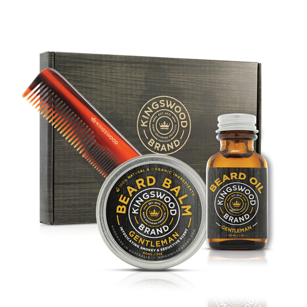 "POCKET COMB ""BEARD"" GIFT BOX"