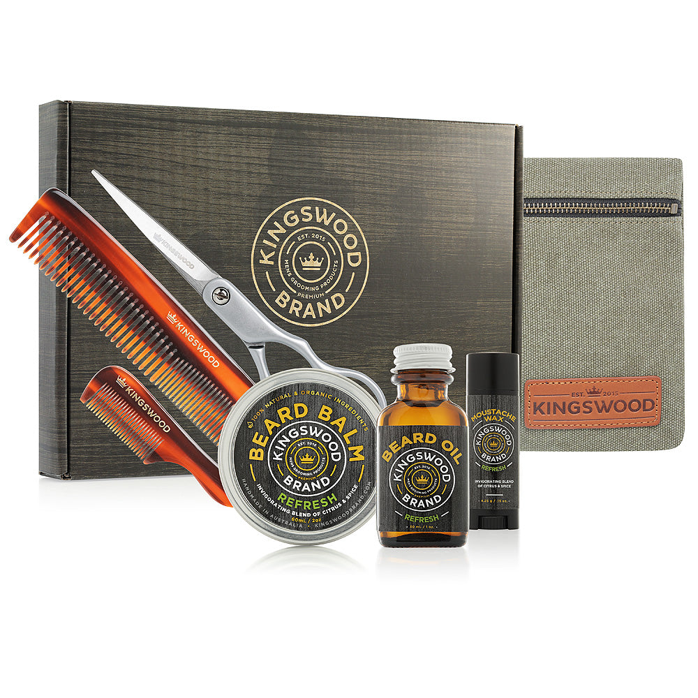 ULTIMATE BEARD & MOUSTACHE GIFT BOX