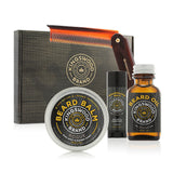 "FOLDING COMB ""BEARD & MOUSTACHE"" GIFT BOX"