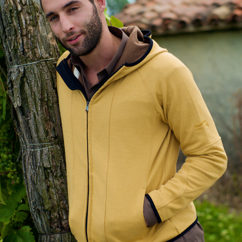 Double Fleece Hoodie Man