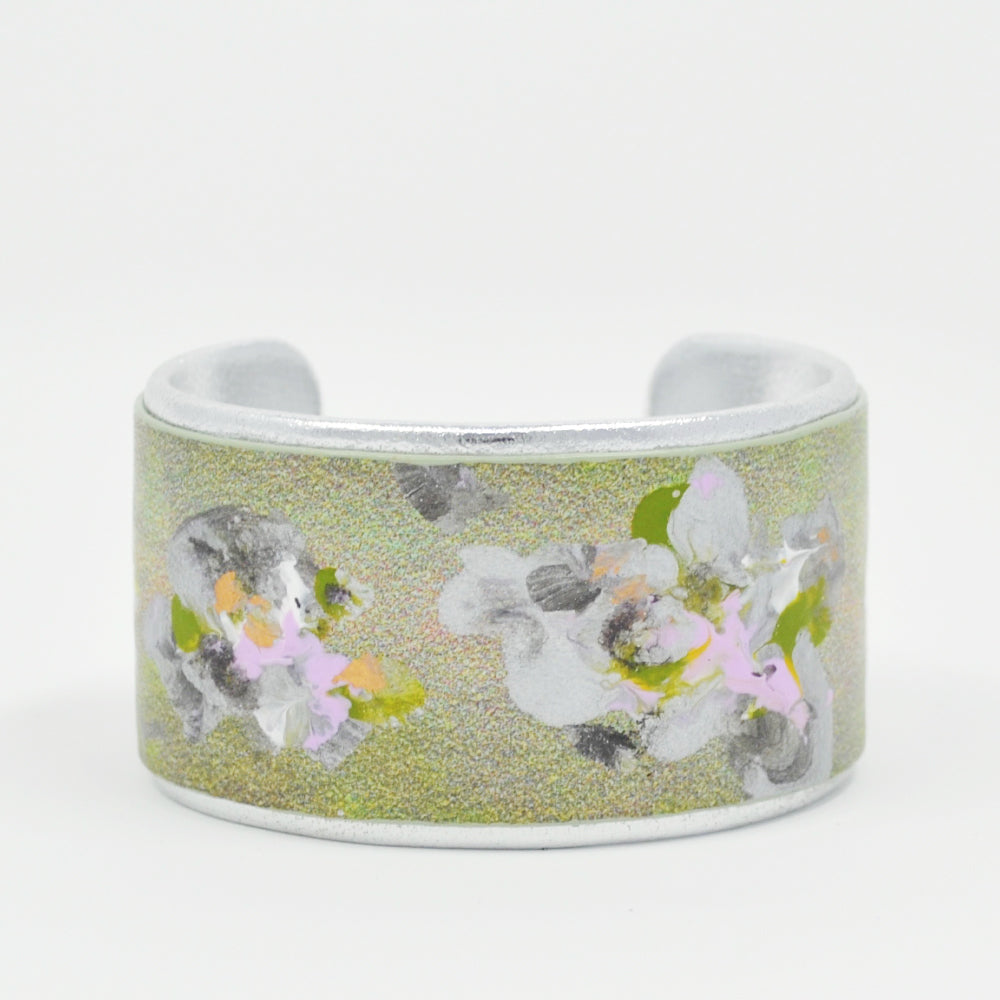 15 Silverlilaccharcoal Flowers On Spring Multi Leather Lema J