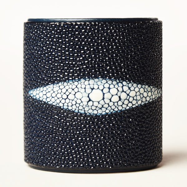 "3"" Navy Protective Eye Cuff with Navy Liner"