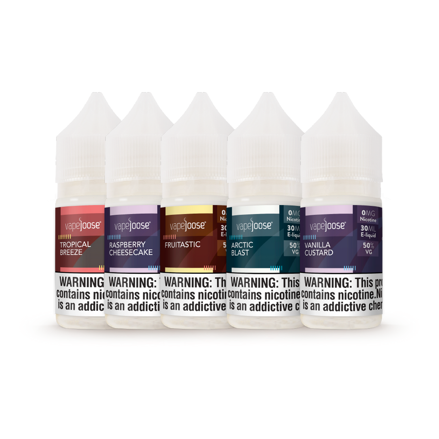 Build Your Own 5 Pack - 30 mL/50% VG
