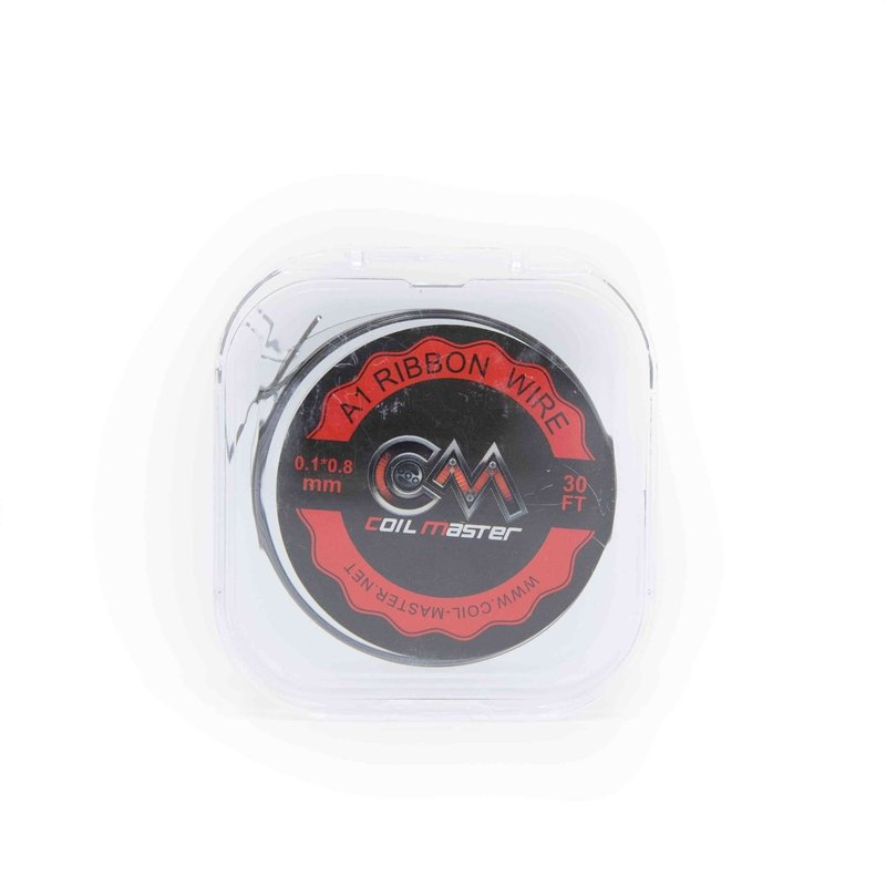 30' Coil Master A1 Ribbon Wire 0.1*0.8mm