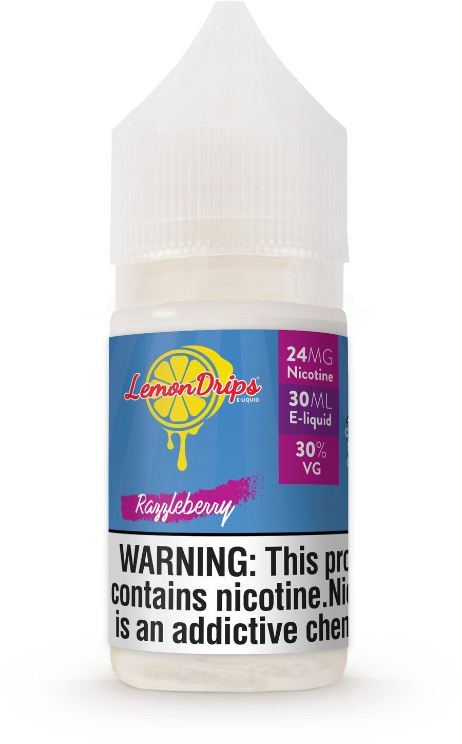 30 mL LemonDrips High Nicotine - Razzleberry