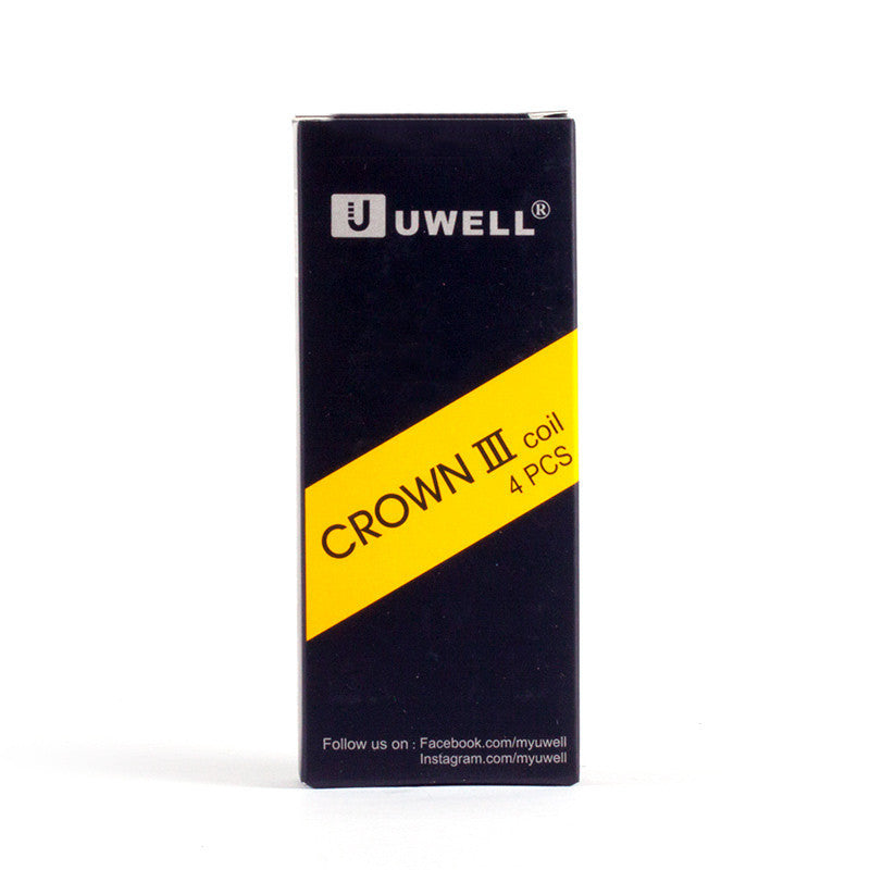 4 Pack Uwell Crown 3 Coils