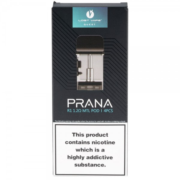 4 Pack Lost Vape Prana Pods