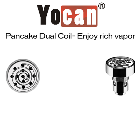 5 Pack Yocan Evolve-D  Dry Herb Coils