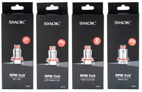 5 pack SMOK RPM 40 replacement coils