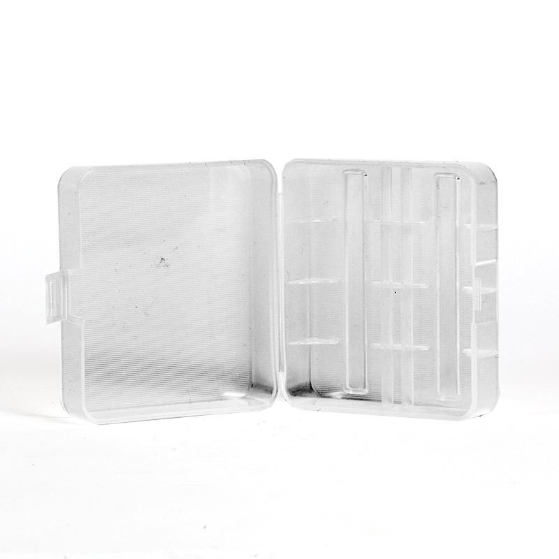 Plastic Two Bay 26650 Battery Case