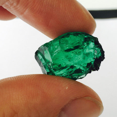 emerald rough gem