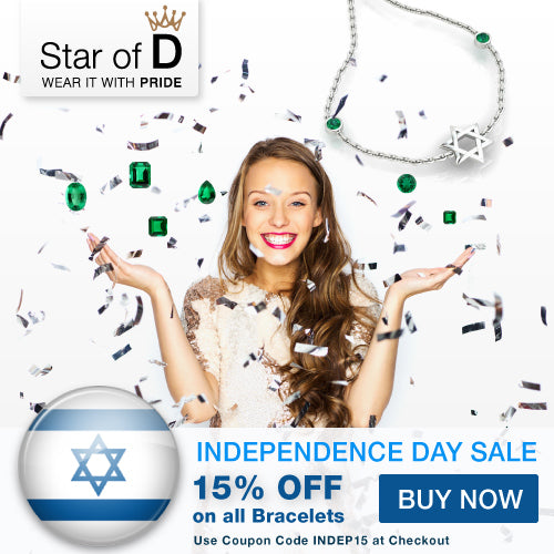 promotion banner for fine jewish jewelry