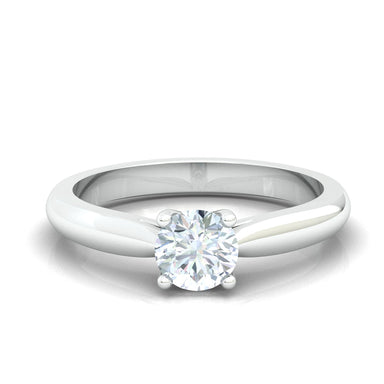 """Linda"" Classic Engagement Diamond Ring"
