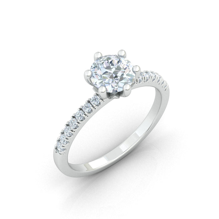 """Angelina"" Engagement Ring"