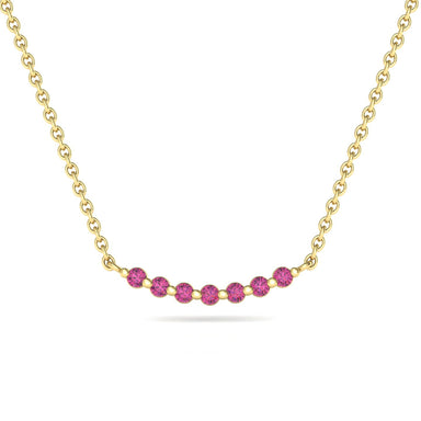 Seven Stars Natural Gems Necklace