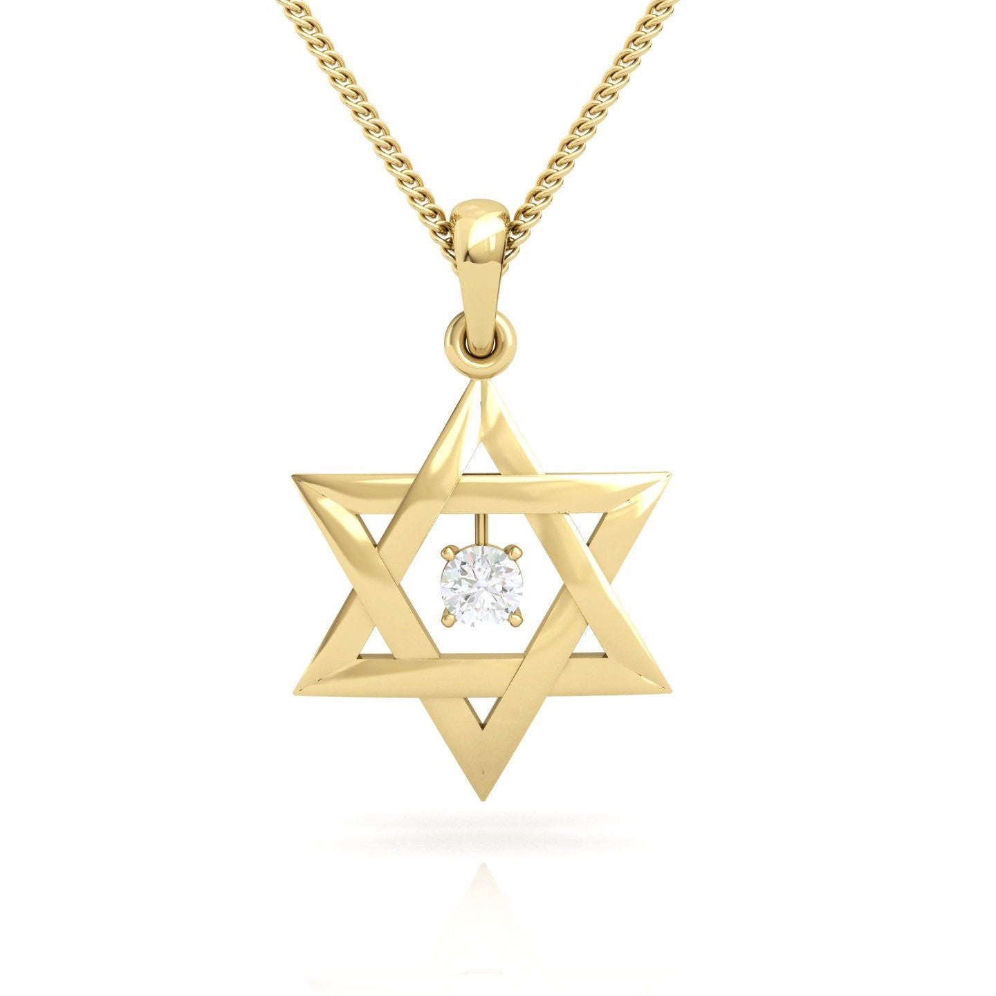 Interwoven star of david with a round natural gem gold pendant interwoven star of david with a round natural gem gold pendant aloadofball Choice Image