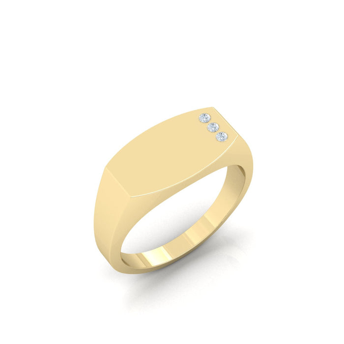 'May's' Signet Ring