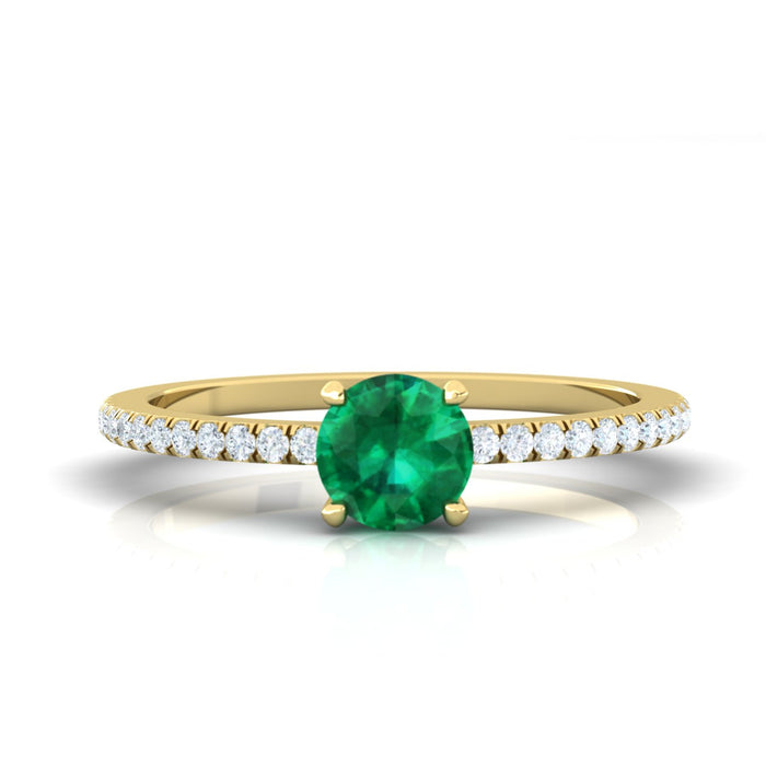 """Anne"" Ring with Natural Gemstone"