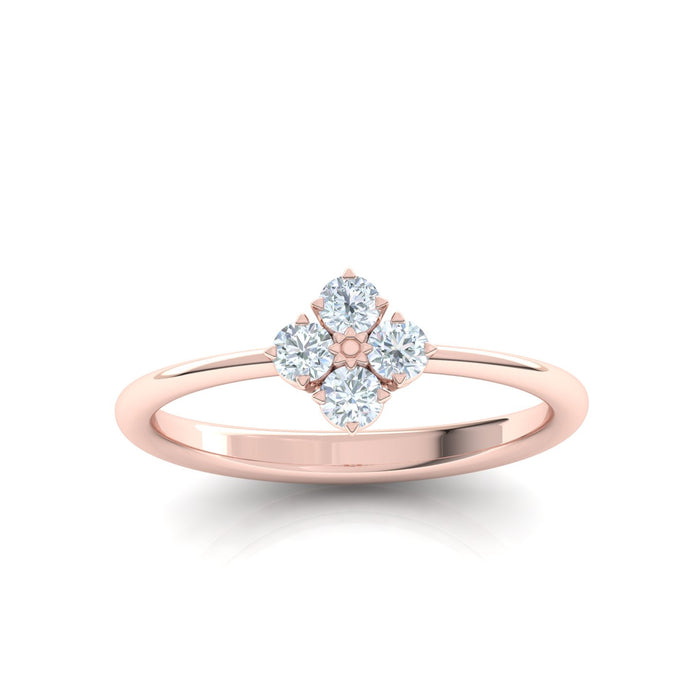 Serenity Ring with Diamonds
