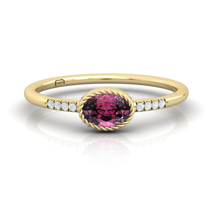 """Katherine"" Ring with Natural Gemstones and Diamonds"