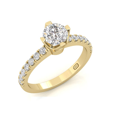 """Tina"" Solitaire Ring"
