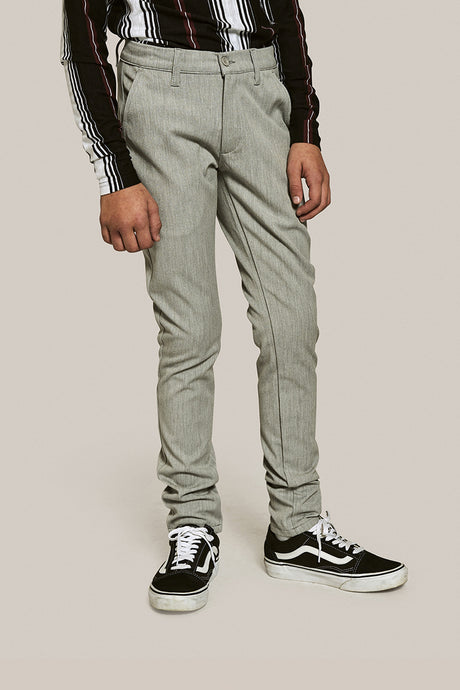 GRUNT Dude Pant Pants Snow Melange
