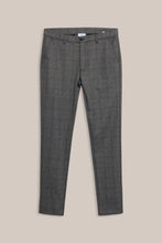 Load image into Gallery viewer, Formél Konrad Check Pant Pants Black Check