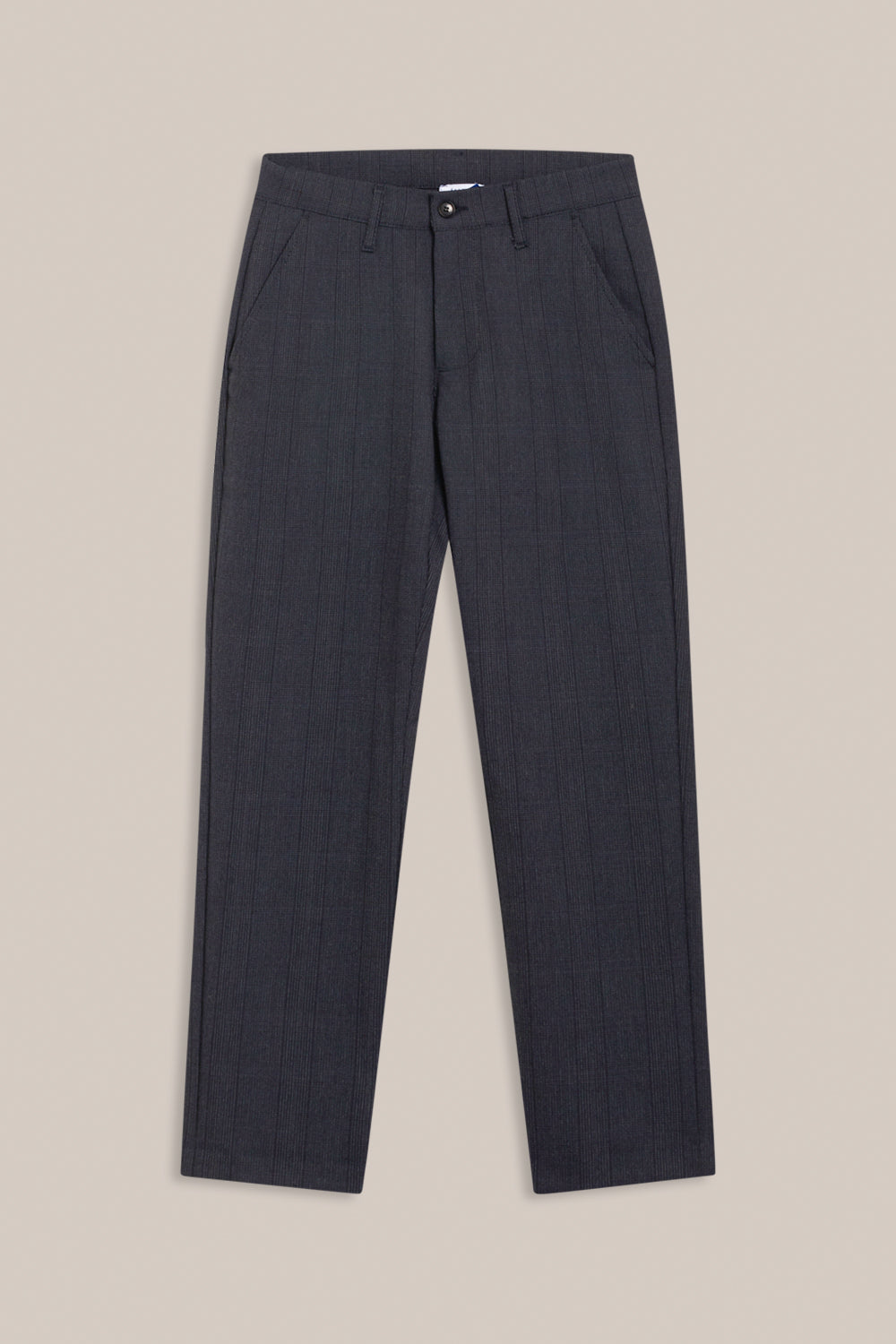 Formél Konrad Check Pant Pants Blue Check