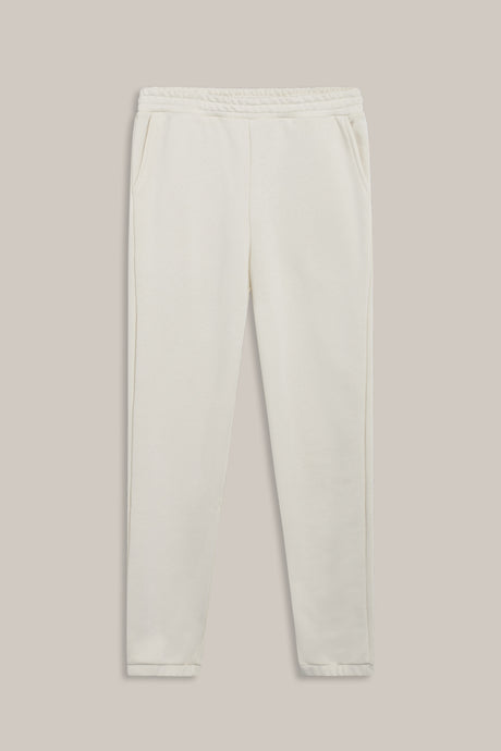 GRUNT OUR Lilian Jog Pant Pants Cream White