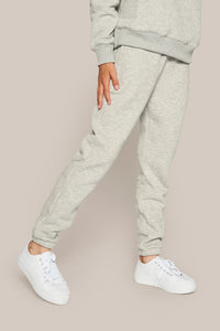 GRUNT OUR Lilian Jog Pant Pants Grey Melange