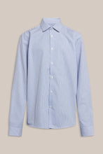Load image into Gallery viewer, Formél Tex Stripe Shirt Shirts Blue