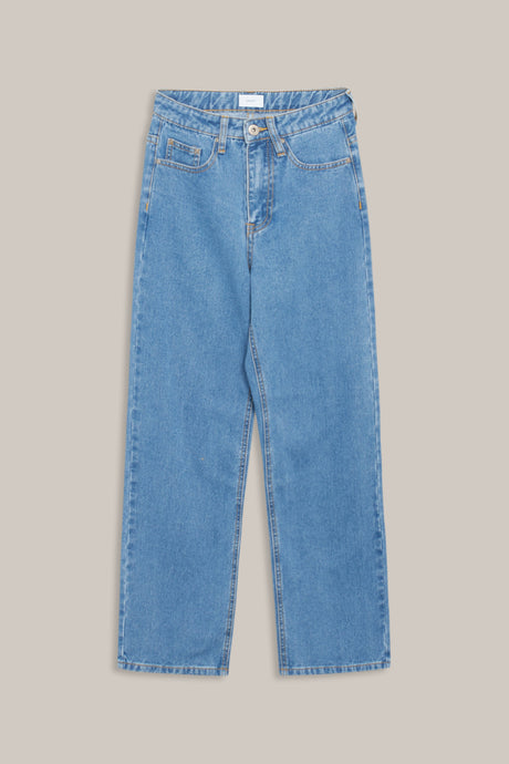 GRUNT Wide Leg Jeans Jeans Authentic Blue