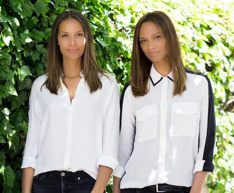 Women shirts made in New York. Designers Duo. Luxury fashion