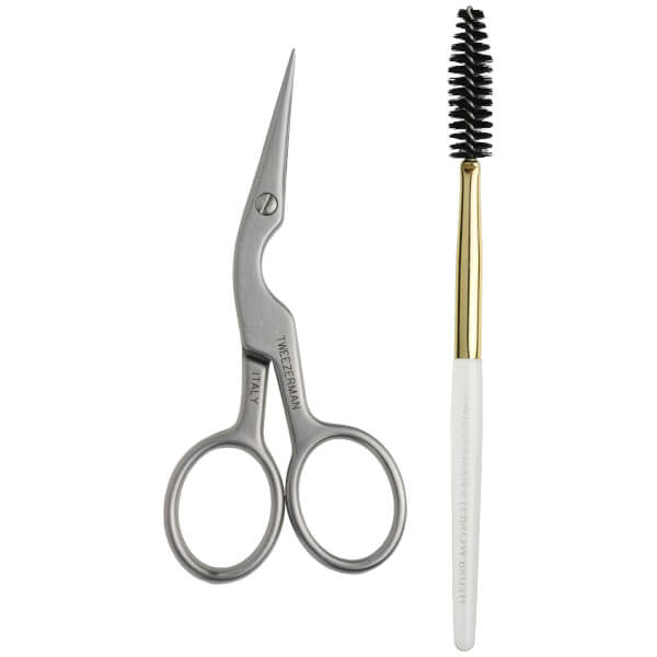 Brow Shaping Scissors and Brush