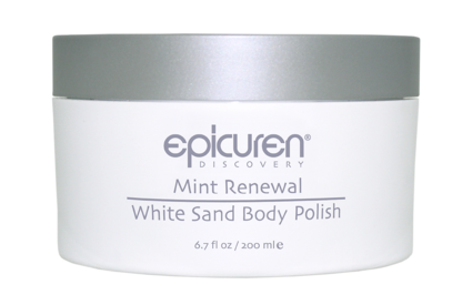 Mint Renewal White Sand Body Polish
