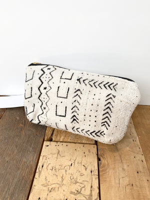 Mudcloth Cosmetics Bag