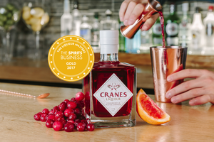 We won gold with our newly branded liqueur!