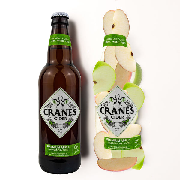 Cranes Premium Apple Cider (9x500ML)
