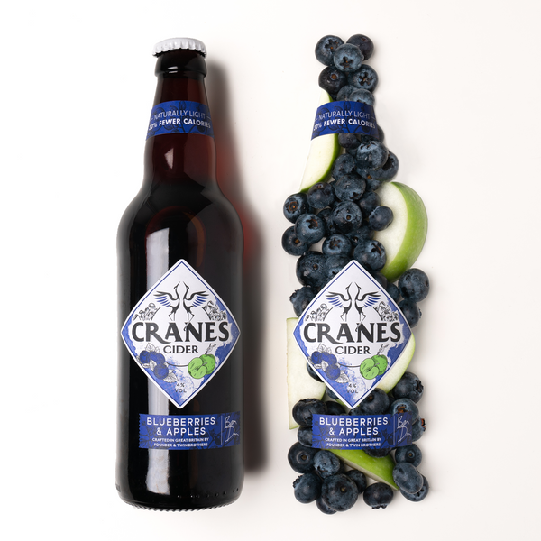 Cranes Cider Blueberries & Apples (9x500ml)