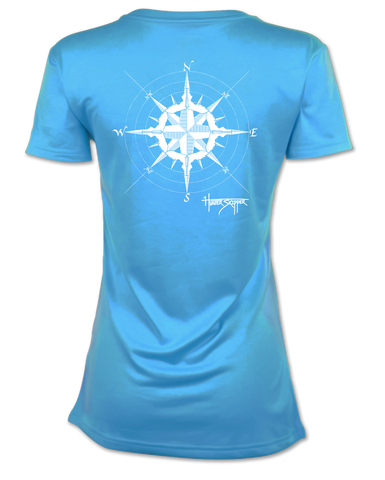 Florida Compass - Performance Women's V-Neck