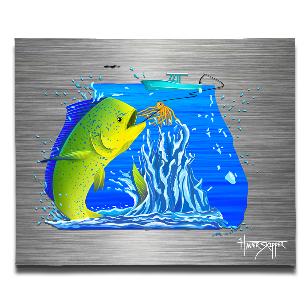Florida Mahi Canvas Print