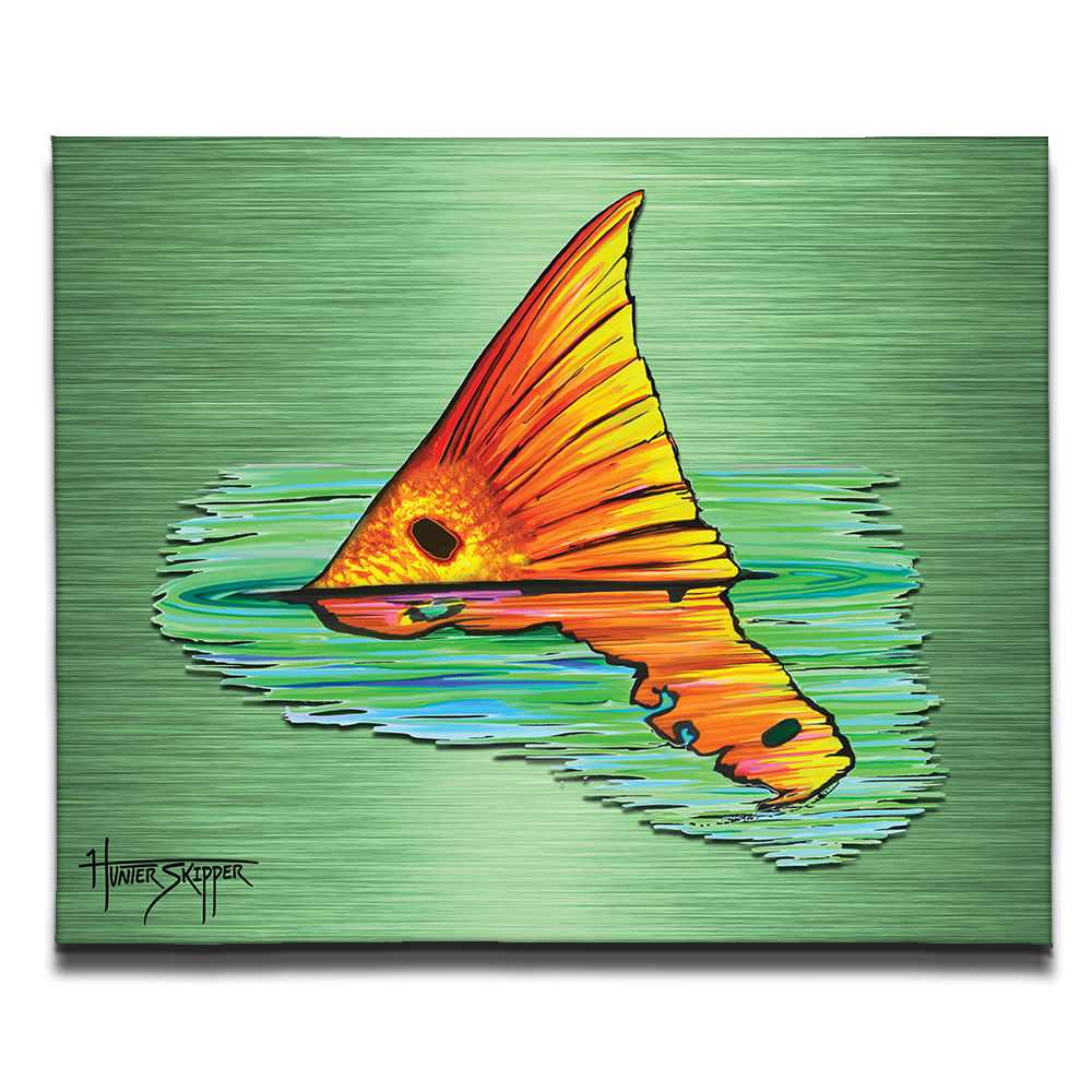Redfish Reverie Canvas Print