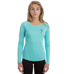 Copy of Compass Blue - Performance Women's Scoop-Neck